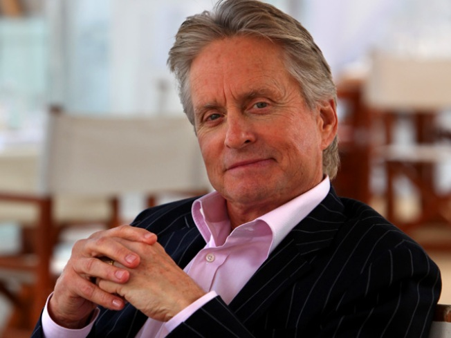 """Michael Douglas Will Promote """"Wall Street"""" While Undergoing Chemo"""