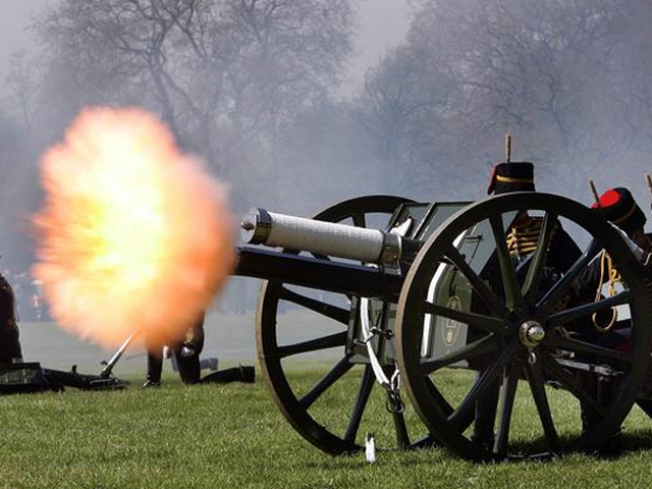 Pa. Man Fires Cannon, Hits Neighbor's House