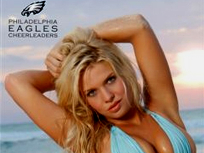 Eagles Cheerleaders Bring Eco-Sexy Back