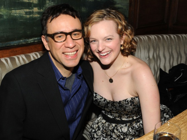 """Mad Men's"" Elisabeth Moss Divorces ""SNL's"" Fred Armisen"
