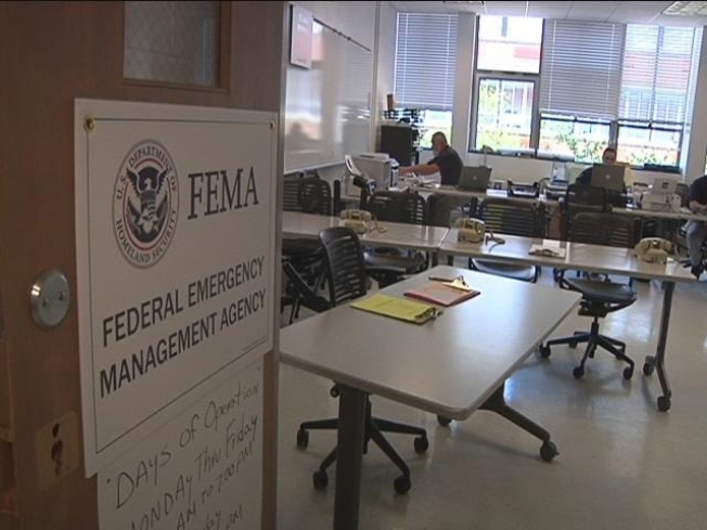 Locations of FEMA Disaster Recovery Centers