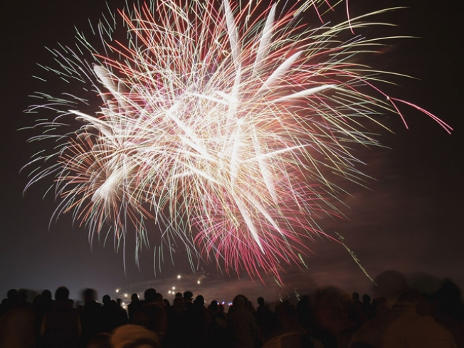 Fourth of July Fireworks Shows Light Up the Night
