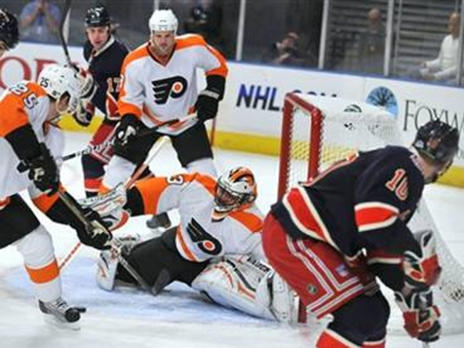 Flyers Hold Off Rangers in 3-2 Win