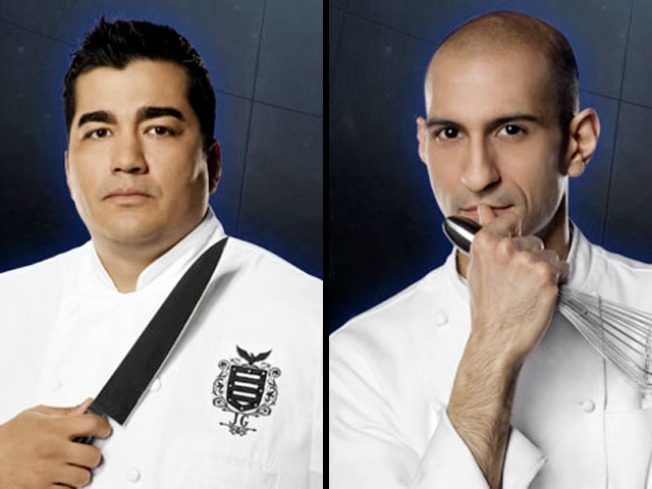 "Philly Vs. New York in ""Iron Chef"" Finale"