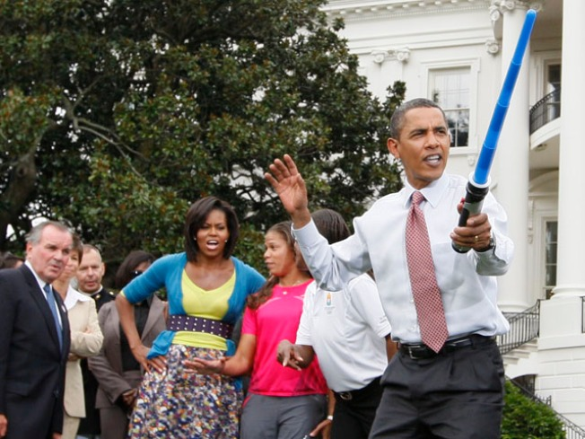 An Olympic-Sized Party at the White House