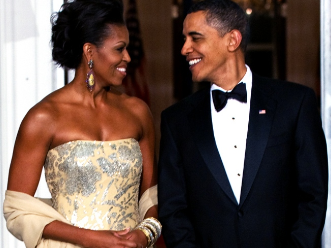 Michelle Obama Tops French Elle's Best-Dressed List