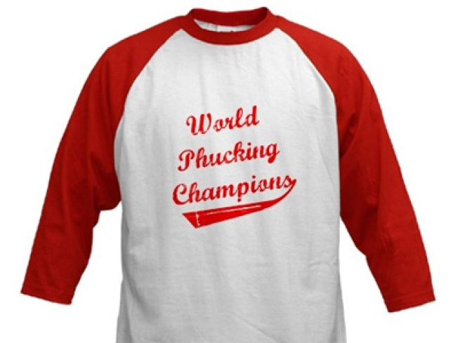 From TV Shocker to T-Shirt Slogan: Utley's Words Now Wearable