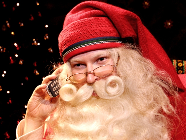 Tracking Santa's High-Tech Trek