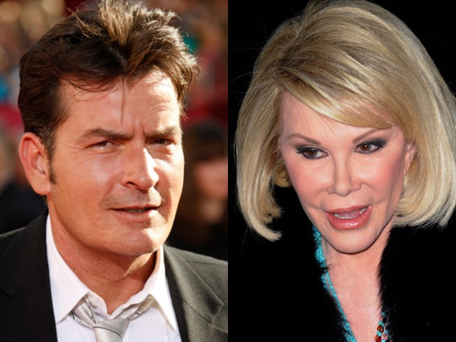 "Joan Rivers on Charlie Sheen: ""He's Awful"""