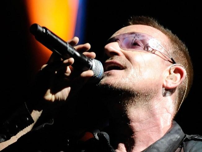 U2 Livestreaming on YouTube