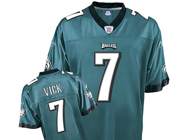 Vick's Jersey Sales Flying High Online