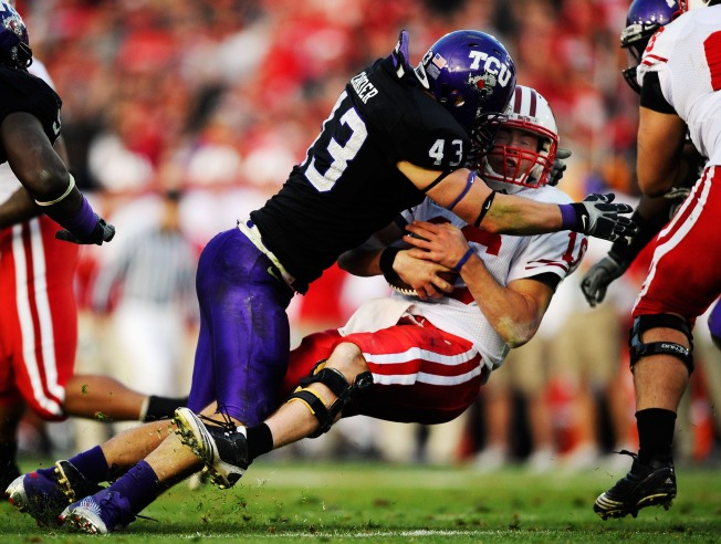 TCU Beats Wisconsin in Rose Bowl