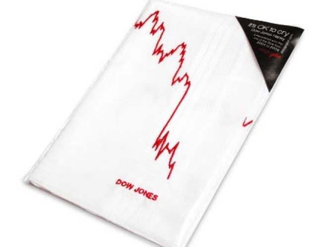 Under $99: Dow Jones Hanky