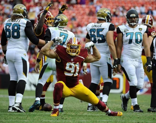 Cousins leads Redskins over Eagles 27-22