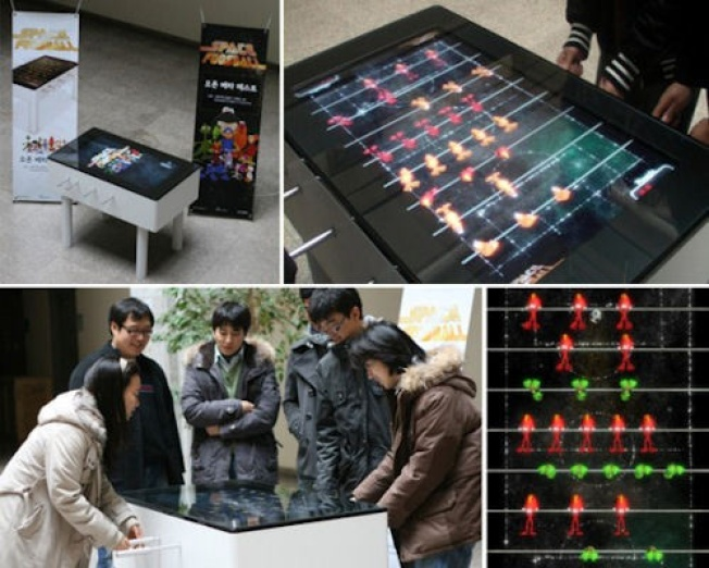 Coming to a Cubicle Near You: Space Foosball