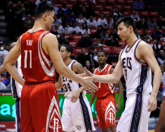 NBA Wrap: Yao Ming's Rockets Beat Yi's Nets