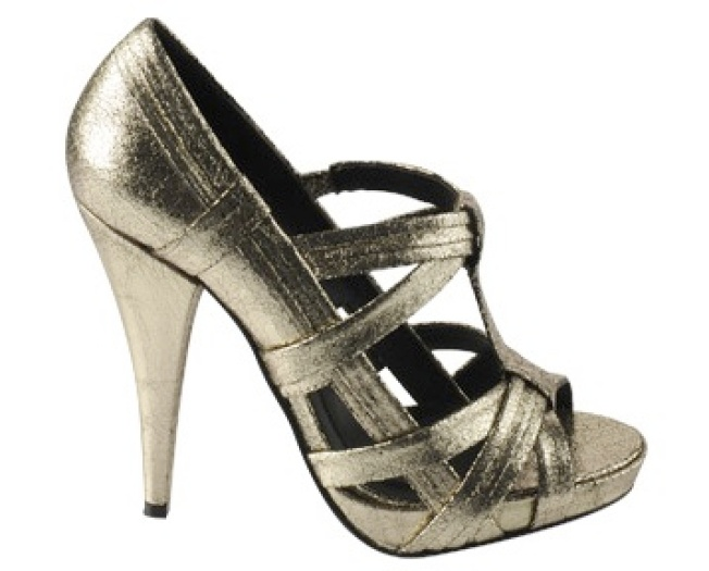 Disco Metallic Heels