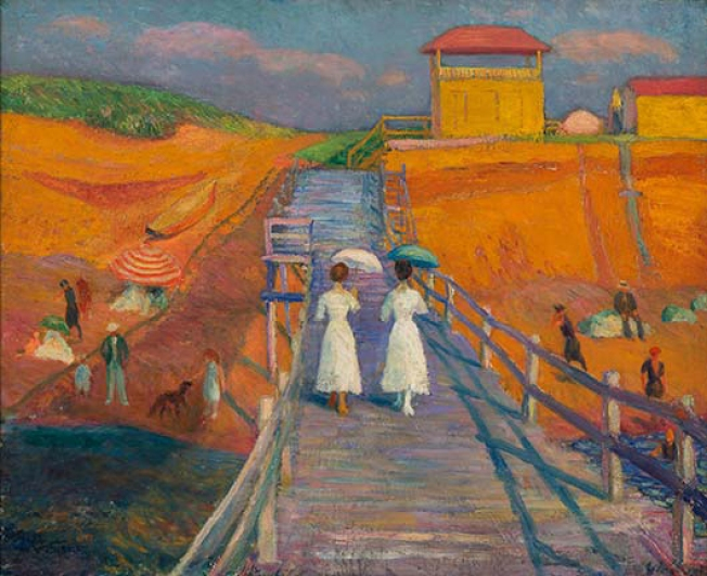 Glackens Exhibit Now Open at The Barnes