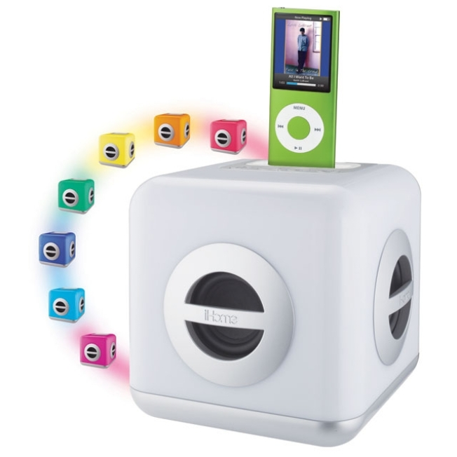 Color You Music with iHome