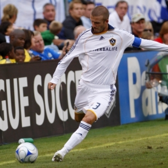David Beckham on Loan to Soccer Team in Italy