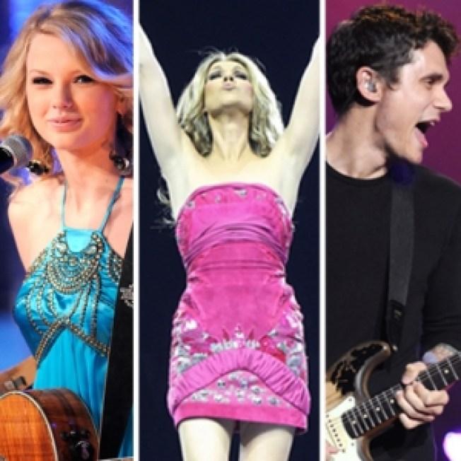 John Mayer, Taylor Swift, Celine Dion & More To Perform On 'Grammy Nominations Concert Live!!'