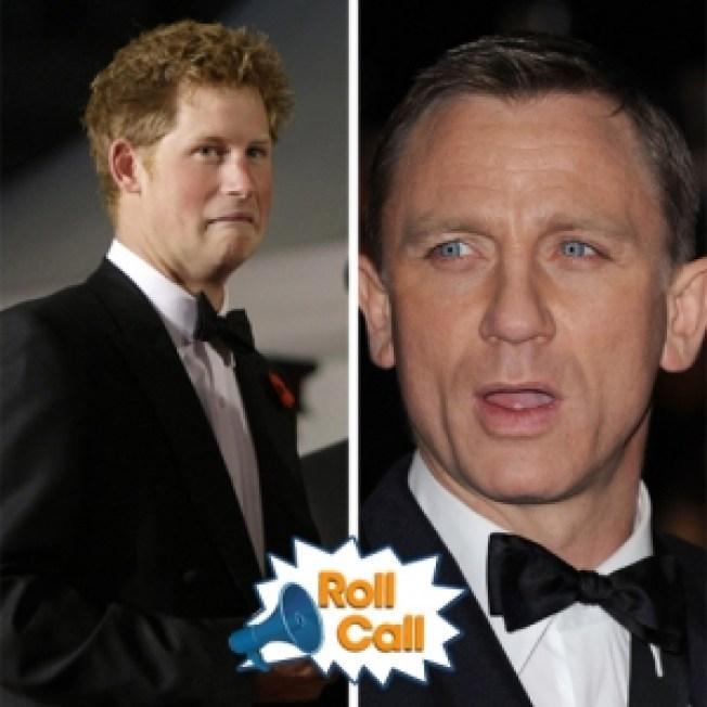 ROLL CALL: Prince Harry's Favorite Bond — Not Daniel Craig