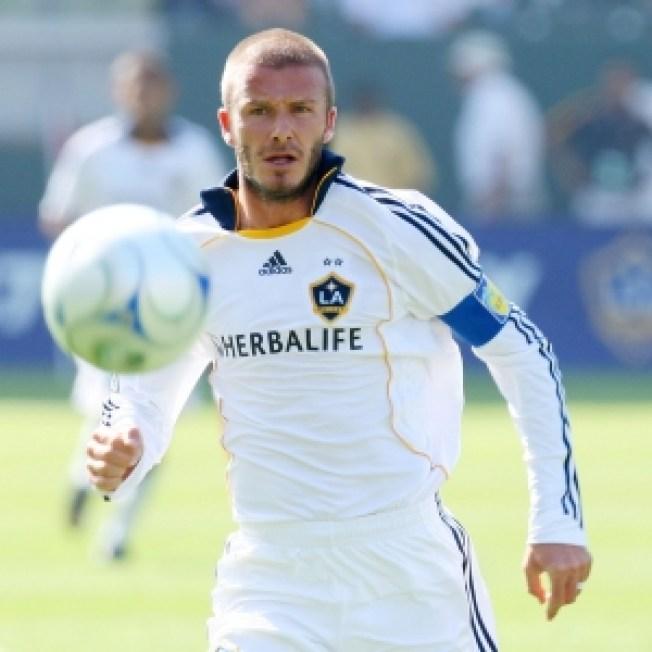 Becks Isn't Ditchin' LA For Milan Permanently… Yet