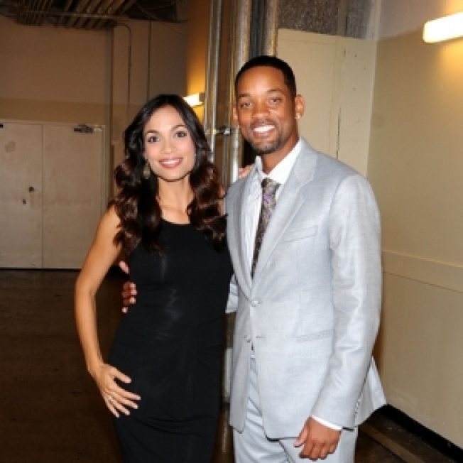 Will Smith 'Nervous' About Love Scenes With Rosario Dawson