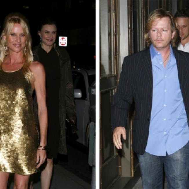 Nicollette Sheridan's Sexy Birthday Gift — Kisses From David Spade!