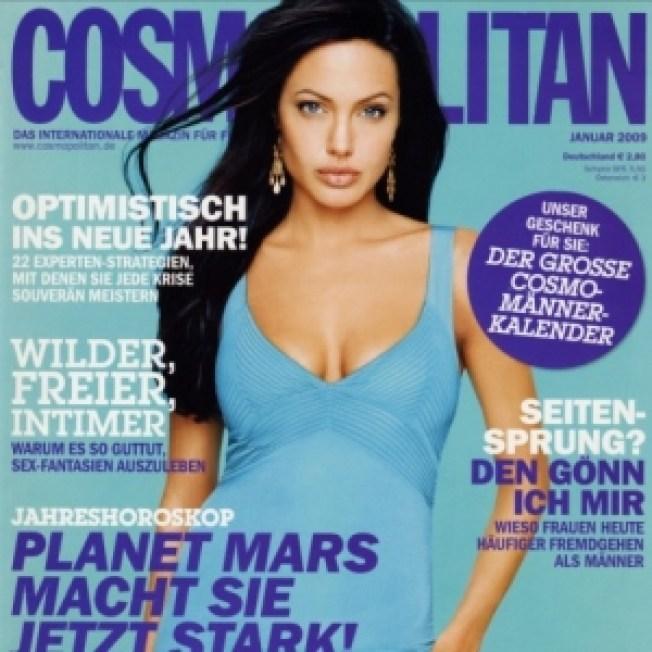 Angelina Jolie: Brad 'Gives Me Strength'