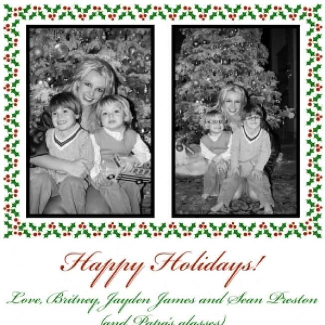 Britney & Sons Spread The Holiday Cheer