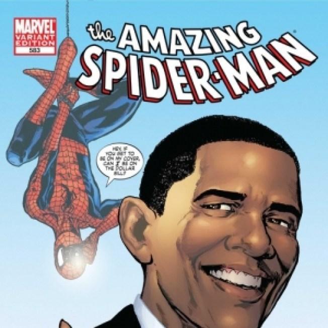 Obama To Meet Spider-Man