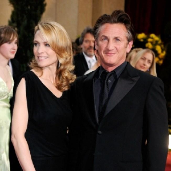 Sean Penn Explains Leaving Wife Out Of Oscar Victory Speech