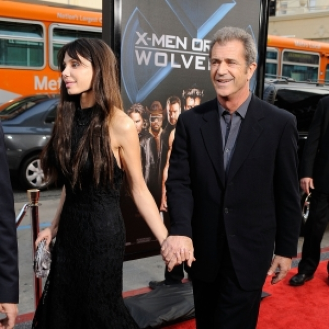 Mel Gibson & Oksana Grigorieva Together 'Less Than One Year'