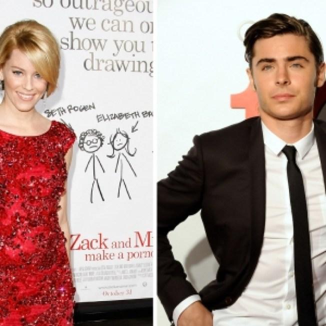 Elizabeth Banks 'Inappropriately Lustful' For Zac Efron