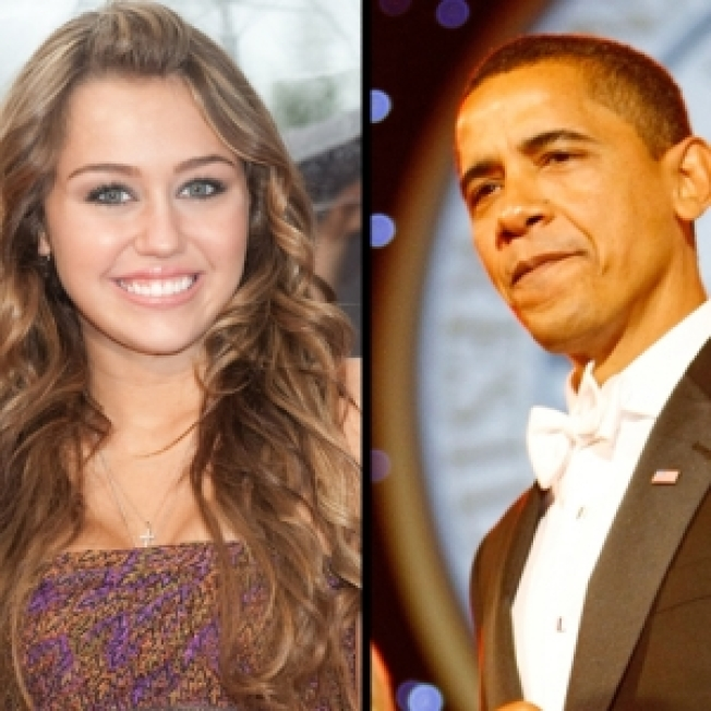 Miley & Barack Move Up On List Of Top Baby Names