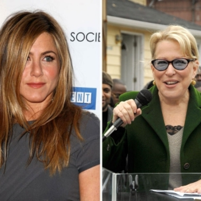 Bette Midler: Jennifer Aniston 'Needs An Exciting Guy, Like A Race-Car Driver'