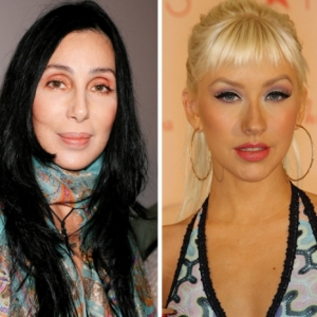 Cher & Christina Aguilera Teaming Up For 'Burlesque'