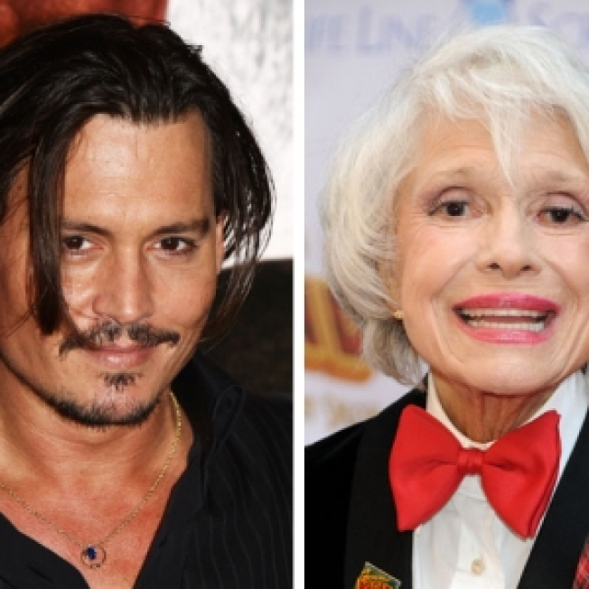 Johnny Depp Gets Big Screen Blessing From Carol Channing