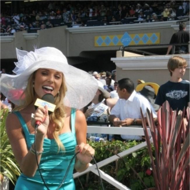 Former Miss California USA Carrie Prejean Sings In San Diego