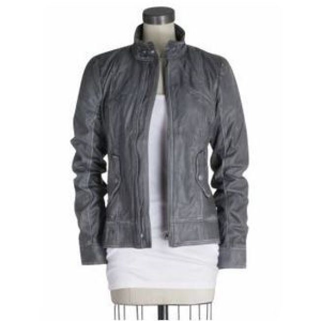 Get Lucky in a Leather Jacket