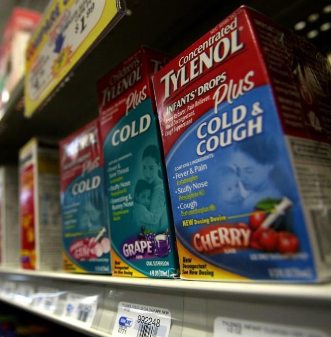 No Cold Meds for Kids Under 4, Drug Firms Warn
