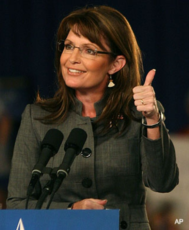 """""""Palin"""" Strippers Go to the Polls"""