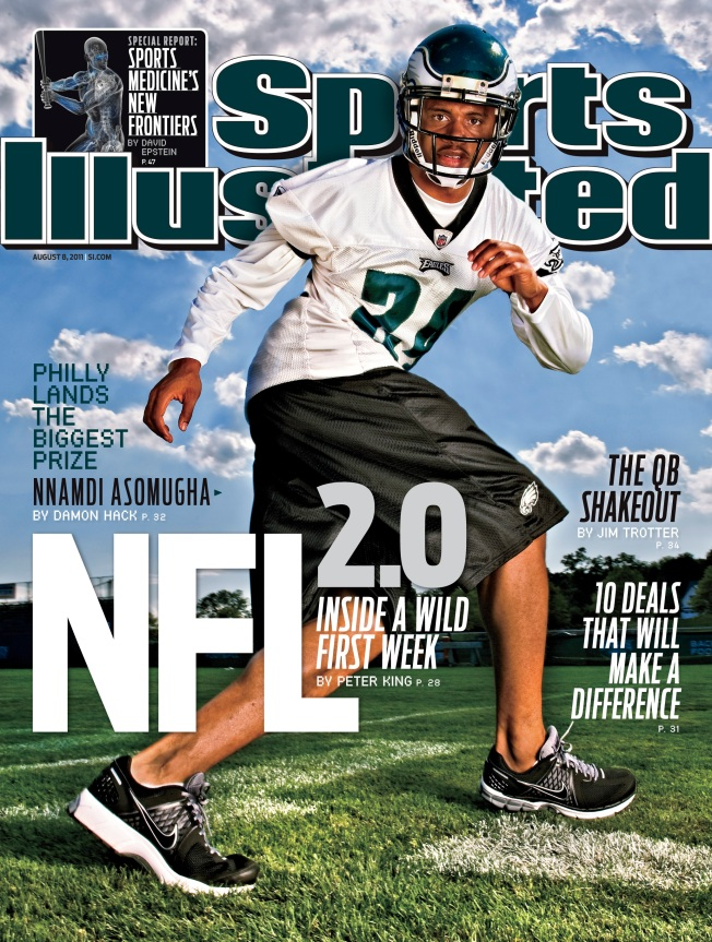 Asomugha Hits SI Cover