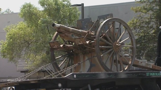 Police Arrest Man Who They Say Stole WWI-Era Cannon in California