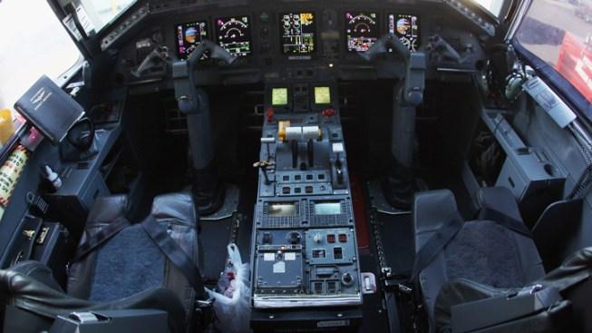 Man in Custody After Locking Himself in Plane's Cockpit