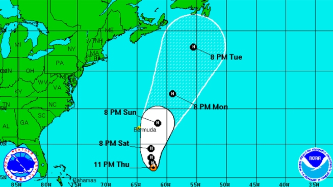 Michael and Leslie Remain Hurricanes in Atlantic
