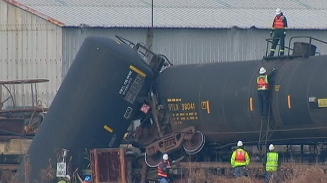 NTSB to Hold Hearing on Paulsboro Train Derailment