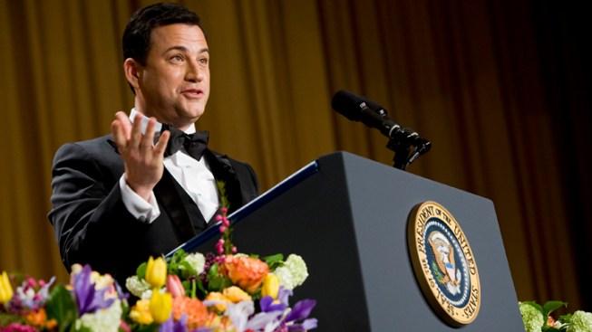 Jimmy Kimmel Mocks Santorum's Romney Endorsement