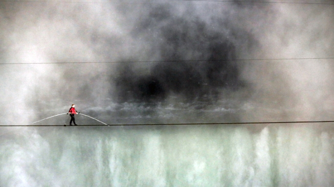 Flying Wallenda to Walk Tightrope Over A.C.